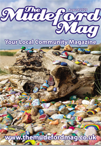 The Mudeford Mag August Cover