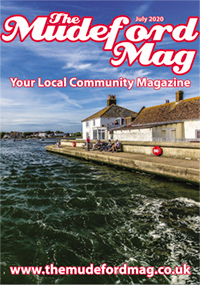 The Mudeford Mag July Cover