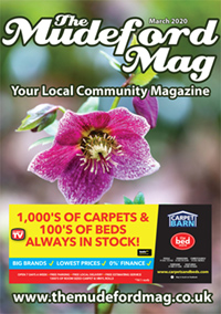 The Mudeford Mag March Cover