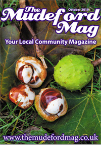 The Mudeford Mag October Cover